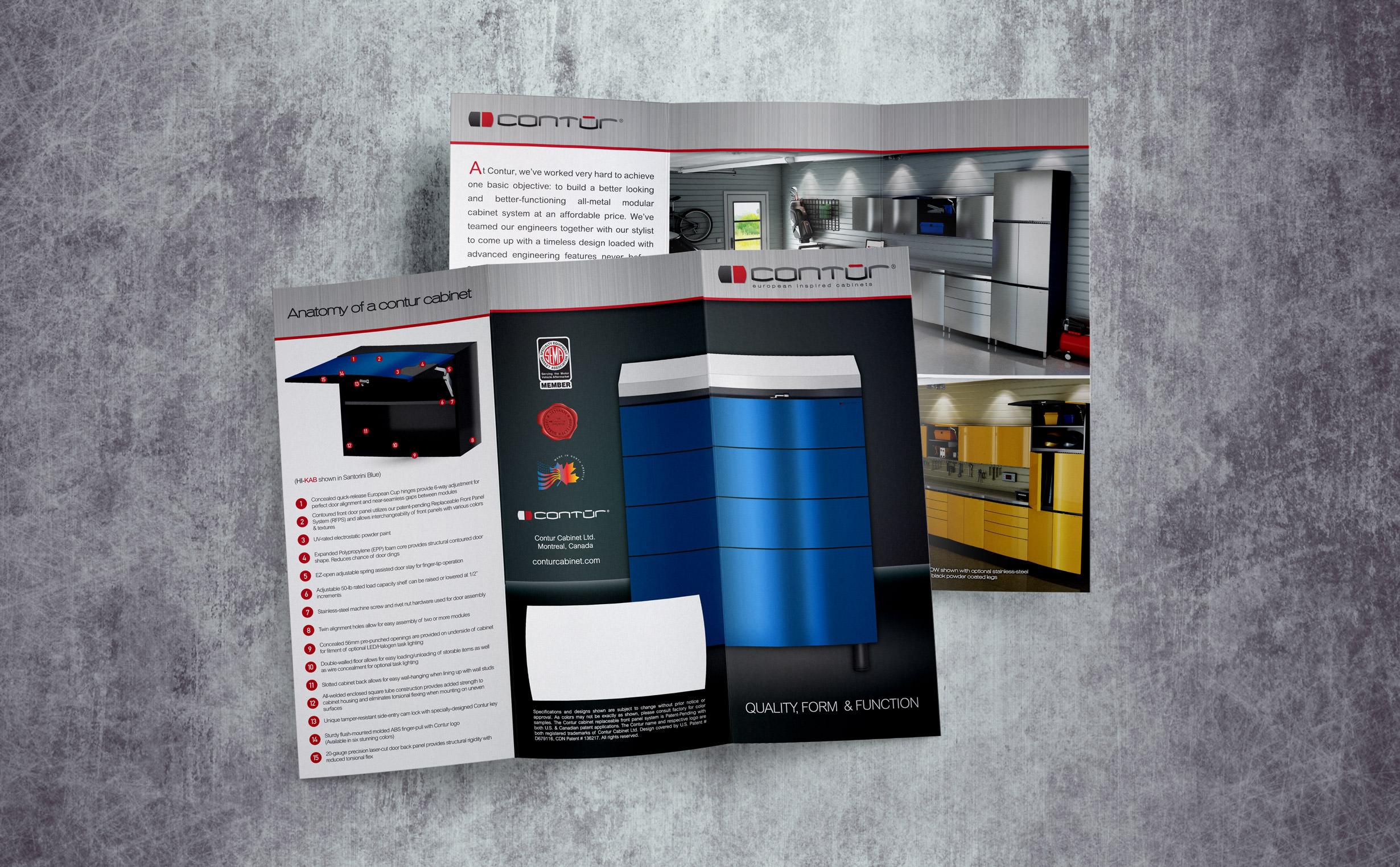 ... Print Brochure, Contur Cabinets ...